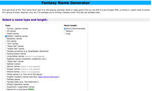 4 Of The Best Fantasy Name Generators for Authors and Gamers
