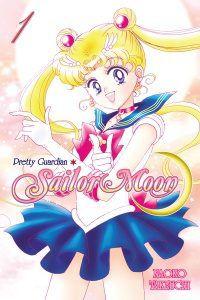 Pretty Guardian Sailor Moon cover by Naoko Takeuchi