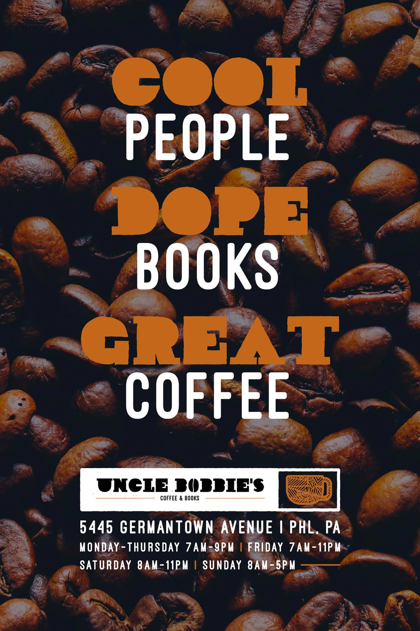 Uncle Bobbie's bookstore in Philadelphia