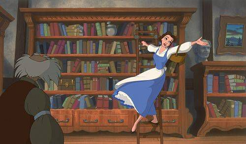 Still from Beauty and the Beast in 10 Ways to Experience the Holidays Like a Bookseller | BookRiot.com