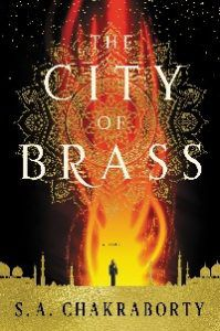 the city of brass by sa chakraborty cover