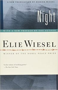 Book about the holocaust called night