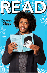 Daveed Diggs ALA Read Poster