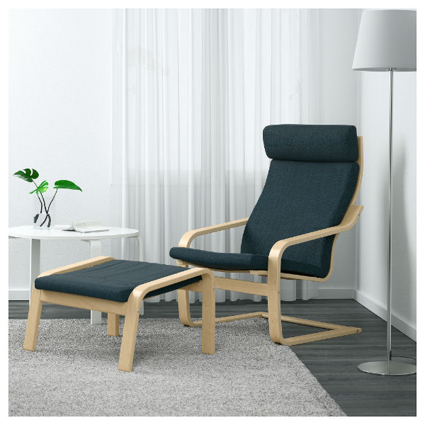 IKEA POÄNG Arm chair ($79)u2014Also comes as a rocker ($149) & The Best Reading Chairs for Every Budget | Book Riot