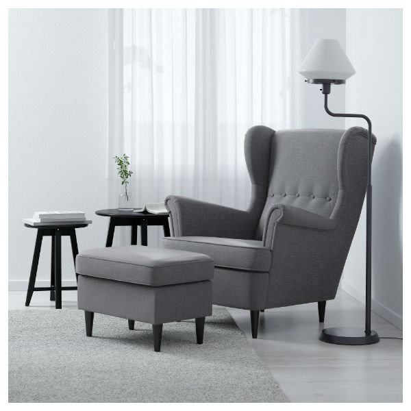 fabric reading chair amazing reading chair and ottoman design your furniture online Under $250 (Where budget-friendly and stylish reading chairs meet). IKEA  STRANDMON Wing Chair ...