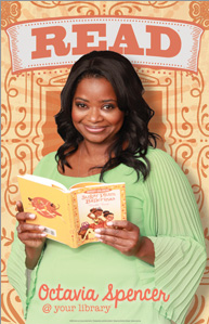Octavia Spencer ALA Read Poster