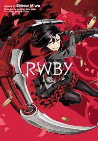 RWBY manga cover