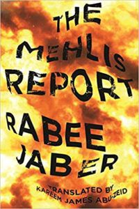 Book cover for The Mehlis Report by Rabee Jaber