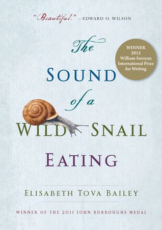 book cover The Sound of a Wild Snail Eating