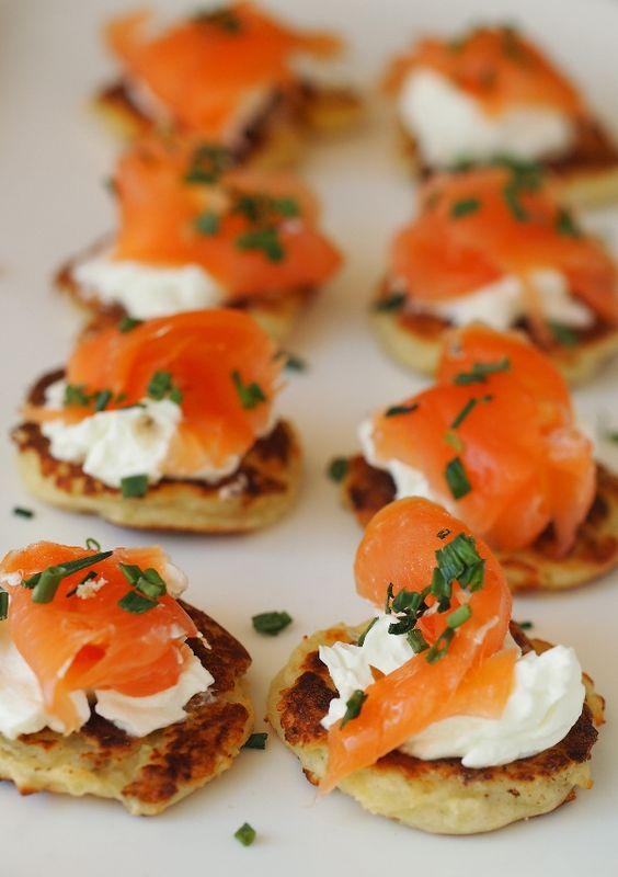 Burns Night party salmon appetizer idea   Bookriot.com