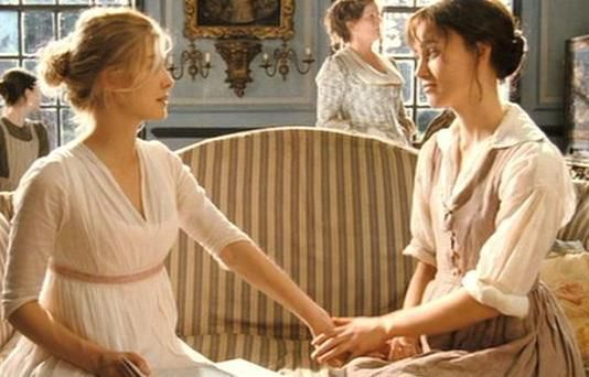 Jane and Elizabeth Bennet from Our Favorite Literary Female Friendships | bookriot.com