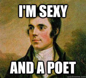 Robert Burns Sexy and a Poet | Bookriot.com