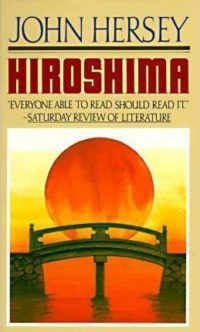Hiroshima John Hersey cover in 100 Must Read Books About World War II | bookriot.com