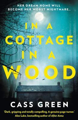 cover image: spooky cottage in woods with a teal foggy sky