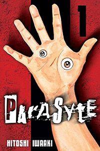 Parasyte volume 1 cover - Hitoshi Iwaaki