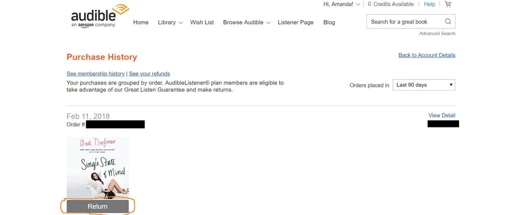 A Step-by-Step Guide for How to Return a Book on Audible