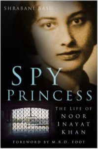 Spy Princess Shrabani Basu cover in 100 Must Read Books About World War II | bookriot.com