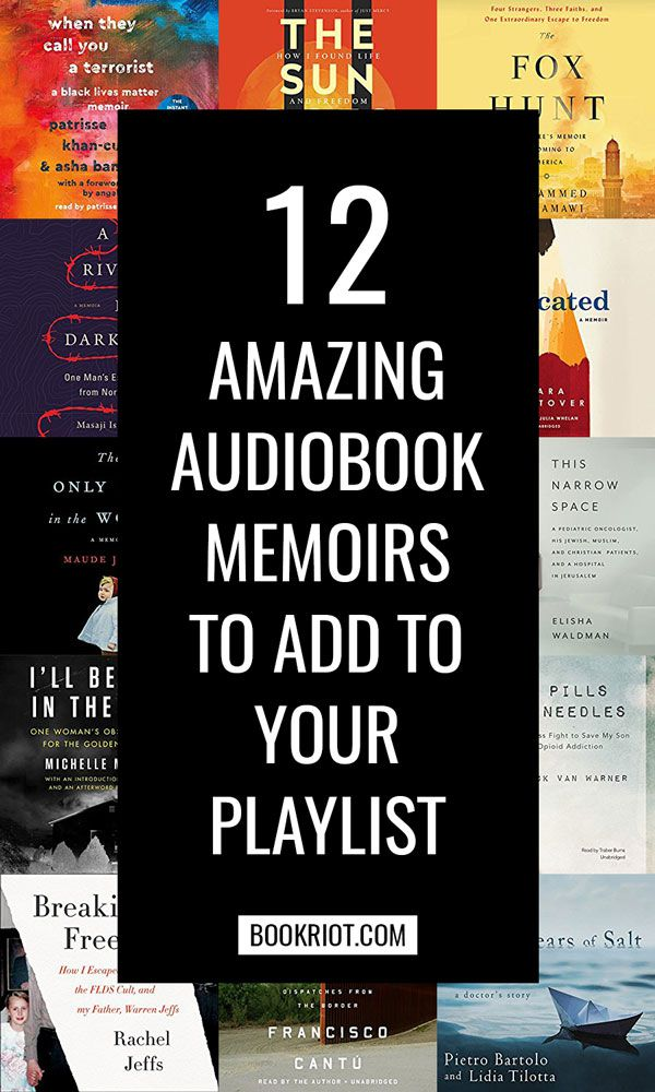 Looking for the perfect audiobook to listen to during your commute, workout, or road trip? Look for one of these amazing memoirs! | Audiobooks | Audio Books | Books | Reading | Book List | Memoirs
