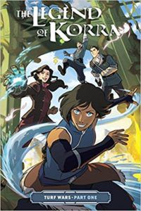 Legend of Korra Turf Wars Volume One cover