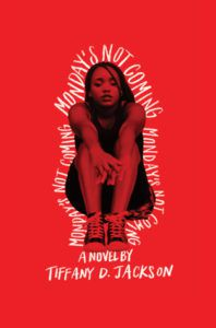 cover image: photo of black teen girl sitting down with her knees to her chest washed in the color red
