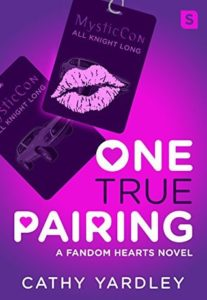 cover of one true pairing by cathy yardley