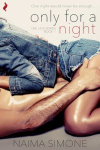 cover of Only for a Night by Naima Simone