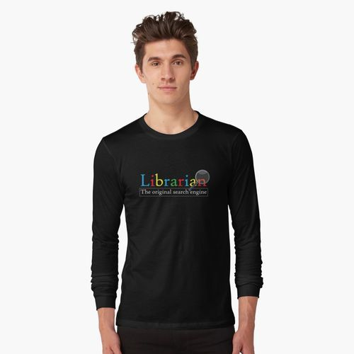 The original search engine librarian shirt