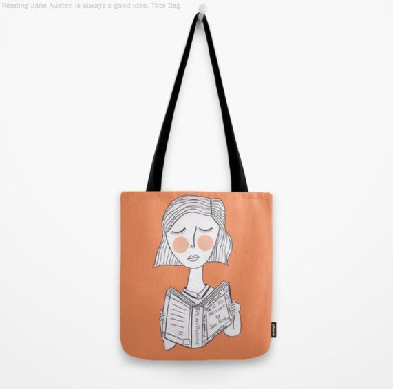 Jane Austen gifts, Tote bag