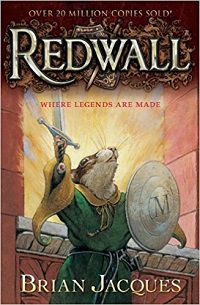 Redwall by Brian Jaqcues cover