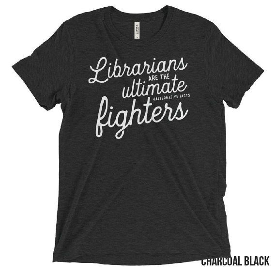 Ultimate alternate fact fighters librarian shirt