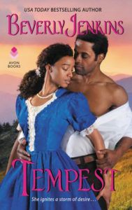 cover of tempest by beverly jenkins
