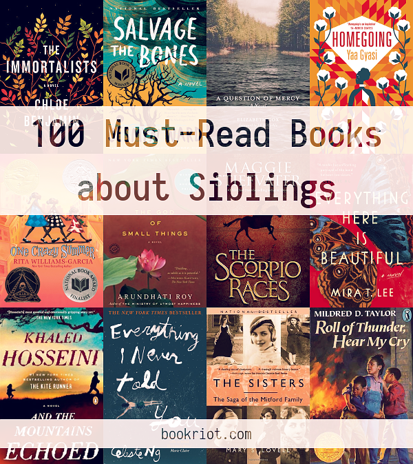 100 Must Read Books About Siblings