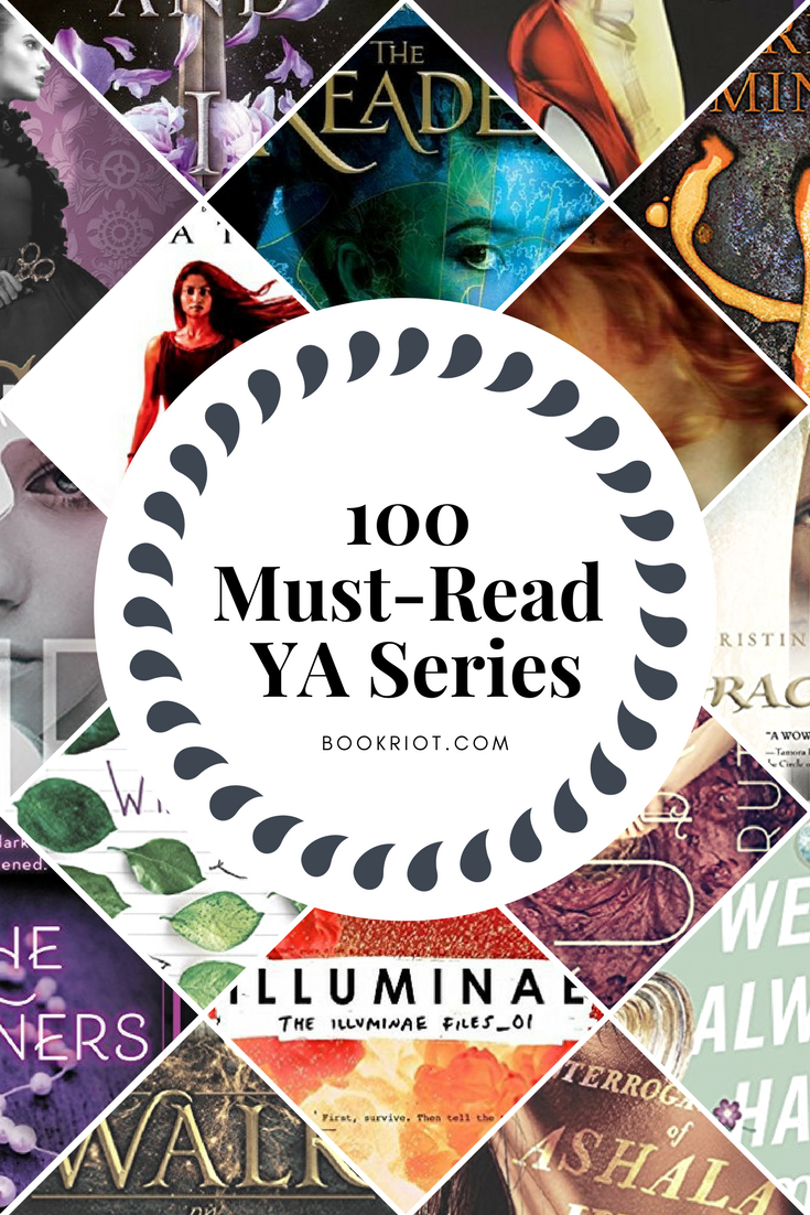 100 Must Read Ya Book Series For Teen Readers Book Riot