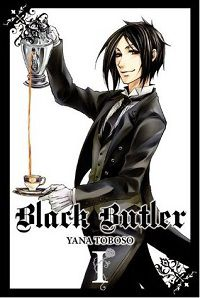 Black Butler volume 1 cover by Yana Toboso