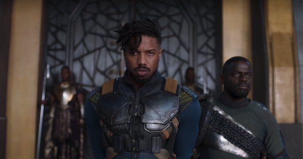 Image of Killmonger from the Black Panther movie