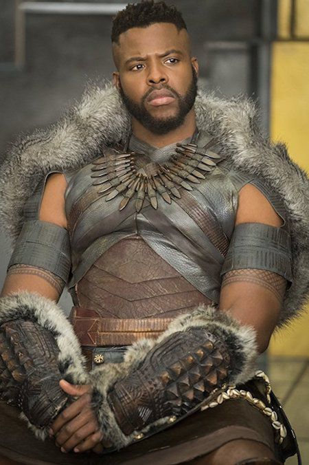 M'Baku in the Black Panther movie