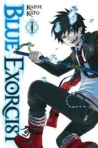 Blue Exorcist volume 1 cover by Kazue Kato
