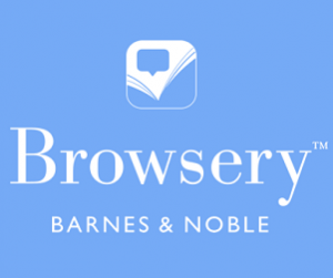 Browsery App logo - Barnes and Noble's new app for book recommendations