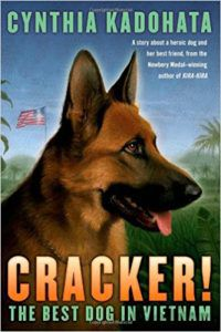 Cynthia Kadohata Cracker the Best Dog in Vietnam cover