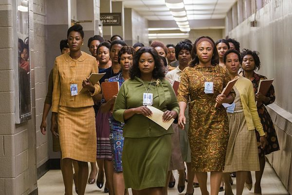 Scene from Hidden Figures in 10 Movies You Didn't Know Were Based on Books | BookRiot.com