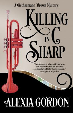 cover image: a red trumpet on a black and beige background