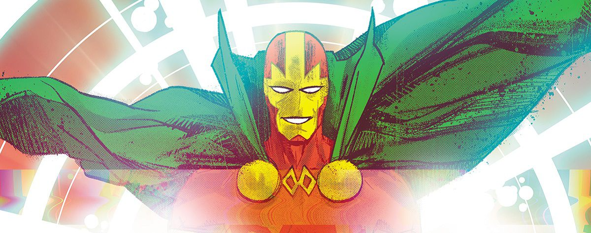 the end of Mister Miracle