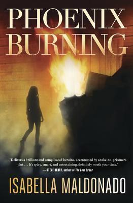 cover image: silhouette of woman walking towards a fire in a brick alley