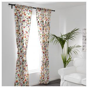 RODARV curtains perfect for reading room