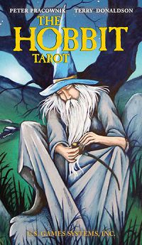 The Hobbit tarot by Terry Donaldson ‎and Peter Pracownik