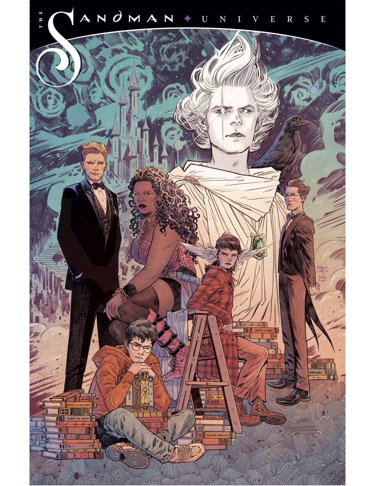 Sandman Universe, Books of Magic