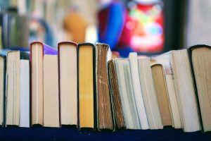 Book club book ends.