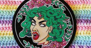 Feminist Medusa Patch in Book Fetish: Volume 299   BookRiot.com