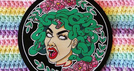 Feminist Medusa Patch in Book Fetish: Volume 299 | BookRiot.com