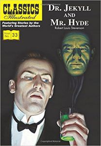 dr jekyll and mr hyde robert louis stevenson book cover